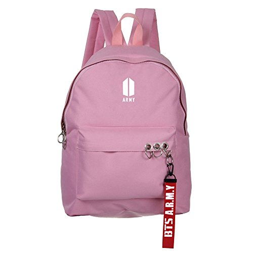Bosunshine BTS Love Yourself V Suga Jin Jimin Jung Kook Casual Backpack Daypack Laptop Bag College Bag Book Bag School Bag with Hat PK1 by Bosunshine (Image #1)'