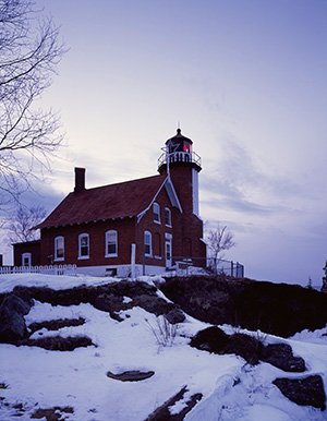 - Photo of Eagle Harbor Lighthouse, Michigan