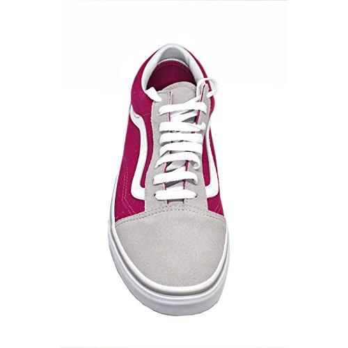 Vans Damen Ua Old Skool Sneaker Drizzle / Sangria