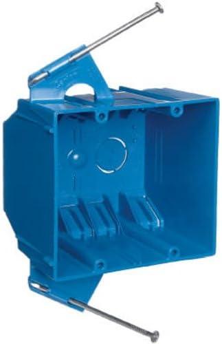 Bulk 2 Gang Box in Thomas /& Betts B232A-UPC Carlon Pvc 32 cu