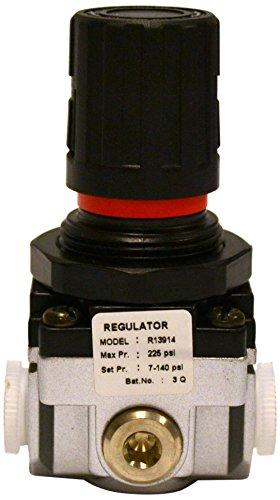 100 Cfm Airline - Groz 60051 Air Regulator Miniature -1/4