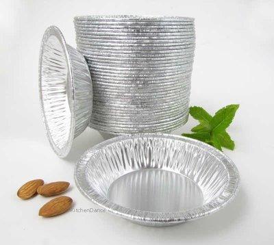 Disposable Aluminum 4 1/4'' Deep Tart Pan #425 (1,000) by D&W Fine Pack (Image #2)