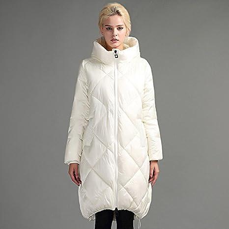 Chaqueta de invierno abrigo de alta calidad Down Jacket, BLANCO, M: Amazon.es: Deportes y aire libre