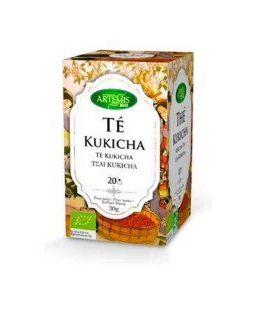 Te Infusion Te Kukicha - Bajo en Cafeina bio- 2 Paquetes de 20 unida