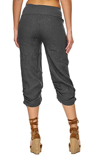 Pantaloni Donna relaxed Grau Zarlena Pantaloni Zarlena ZBzq7vy4E0