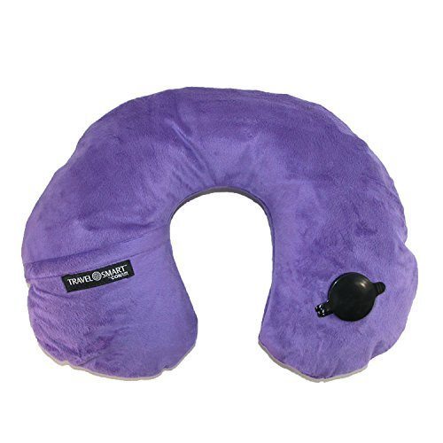 travel-smart-by-conair-ez-inflate-fleece-neck-rest-purple-by-conair