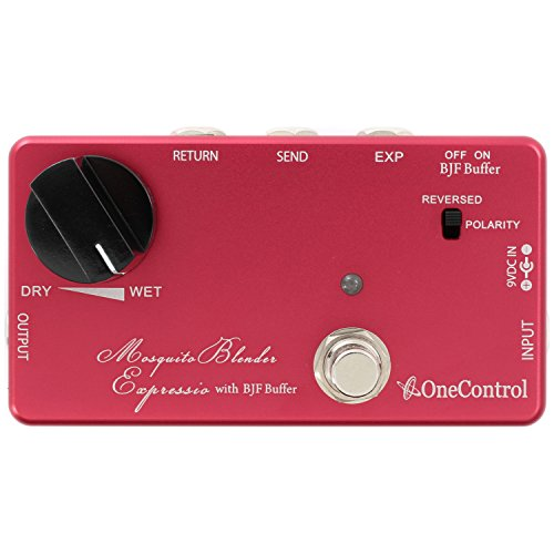 One Control Mosquite Blender Expressio - Wet/Dry Effects Blender Pedal by One Control
