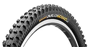 Continental Mud King Fold APEX Dual Ply Bike Tire, Black, 26-Inch x 2.3