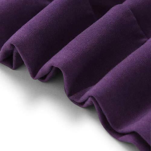 capucha piña Blusa casual blusa de con moda de Sudadera fashion PURPURA Manga estampado calle Sonnena mujer Larga Mujer de streetwear para cálida Tops y apliques Camiseta temporada tops 6qzBBUwd