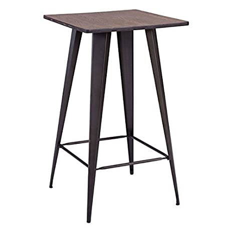 Zuo Titus Bamboo And Steel Bar Table