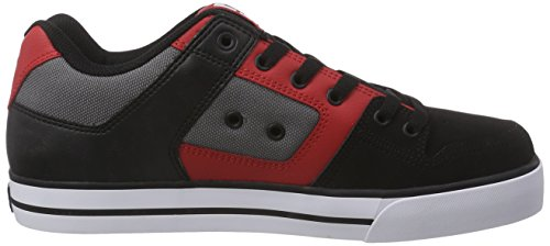 Sneakers black Pure athletic Basses Shoes Multicolore Bat Dc Homme Red axE5q1wWY