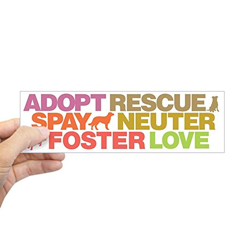 (CafePress Spay Neuter Bumper Sticker 10