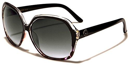 Kleo femme lunettes de soleil ovale Papillon Style Lentille dégradée parfait pour Every Day usage et conduite COMPLET UV400 Protection beachhutsunglasses microfibre poche inclus we8Yt4aX8