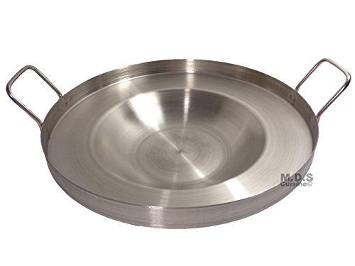 40,64 cm para tortillas freír cóncava de Acero inoxidable estufa de Gas exteriores resistente Acero