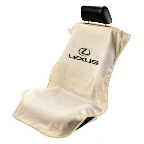 Logo Car Seat Towel (Seat Armour (SA100LXST) Tan 'Lexus' Seat Protector Towel)