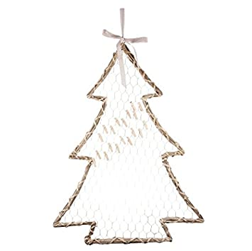 Willow Christmas Tree Card Holder: Amazon.co.uk: Kitchen & Home