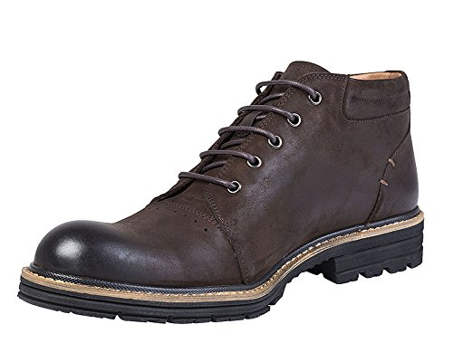 Ankle Capitol Grain Full Suede Leather Boot Brown Chelsea Men's IFITNA qPta66