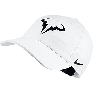 Nike Rafa Nadal U Nk Arobill H86 Gorra, Hombre, Negro (Black/White), Talla Única: Amazon.es: Deportes y aire libre