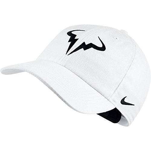 aeee0bc110e7a Amazon.com  Nike Mens Aerobill Rafa Nadal H86 Tennis Hat Black White   Sports   Outdoors