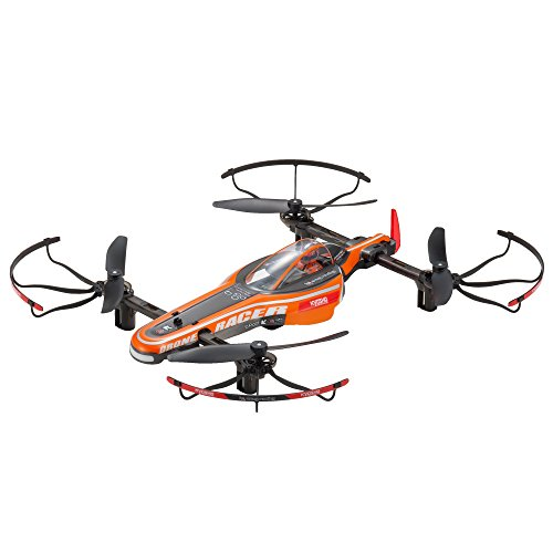 Kyosho RC Racing Drone Toy, Orange ()