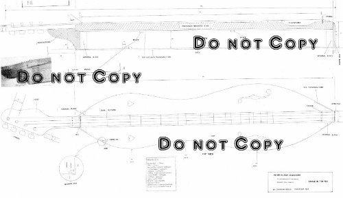 Appalachian Dulcimer (Hour Glass Shaped) Plans (Design) - Full Scale Drawings - Appalachian Dulcimer Tuning