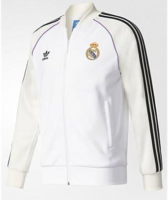 repentinamente Matemático Económico  Amazon.com: adidas Original Real Madrid 2017 Track Jacket, X-Large: Clothing