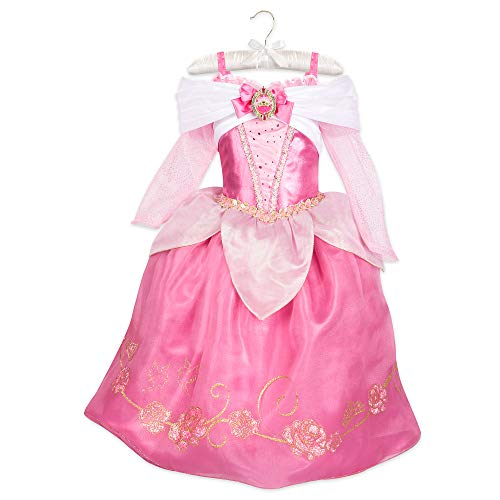 Disney Aurora Costume for Kids - Sleeping Beauty Size 5/6 Blue ()