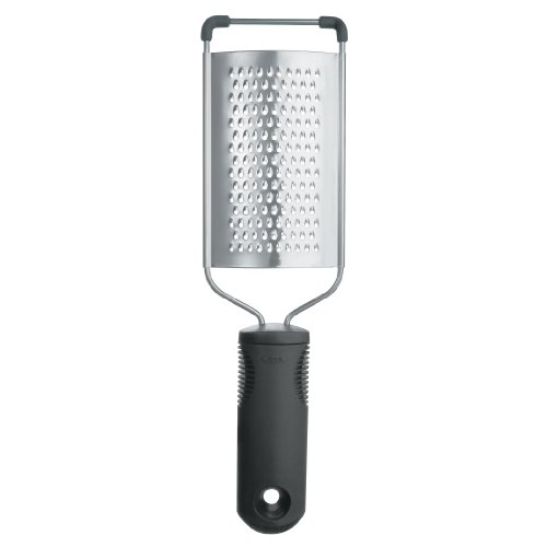 OXO 20581 Good Grips Grater, One Size, Black/Steel ()