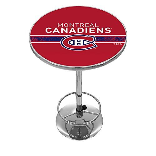 Trademark Gameroom NHL Montreal Canadiens Chrome Pub Table