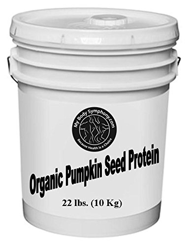 Organic Pumpkin Seed Protein Powder - Bulk 22lb Bucket by Body Symphony