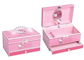 f41af5c38 Hello Kitty Musical Jewellery Box: Amazon.co.uk: Toys & Games