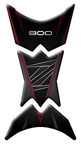 Depó sito para de Resina 3D para Moto Kawasaki z900 pre-083 | para Cremallera (Red) Azgraphishop