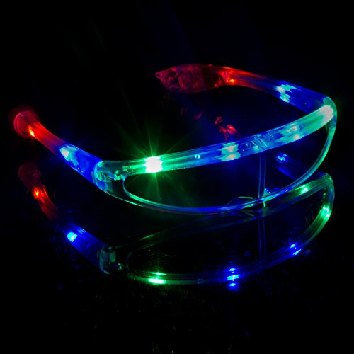 Fun Central G731 LED Light Up Spaceman Shades,