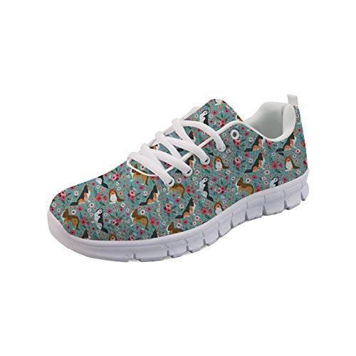 Showudesigns 3D Animal Design Casual Sport Run Shoes Women Comfortable Sneaker