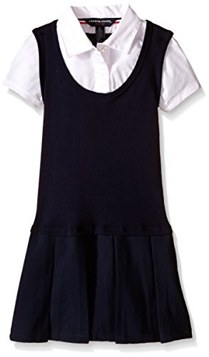 French Toast Girls' Twofer Pleated Dress