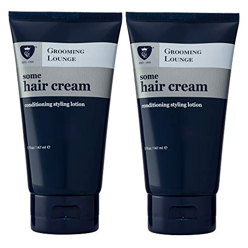 - Grooming Lounge Some Hair Cream, Light Hold, No-Shine, non- Greasy, Styling Lotion, 5 oz, 2-Pack