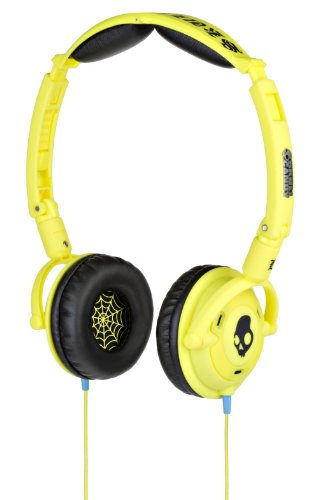- Skullcandy Lowrider Headphones w/Mic -Shoe Yellow