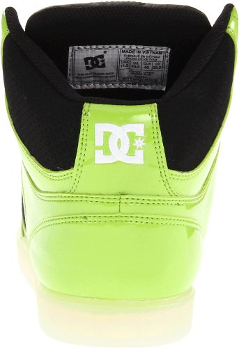 Dc Heren Unie High Se Lace-up Mode Sneaker Zachte Lime / Wit