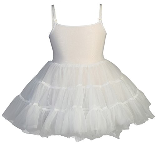 (Girls Petticoat Full Slip (Medium ( 4 - 6)))