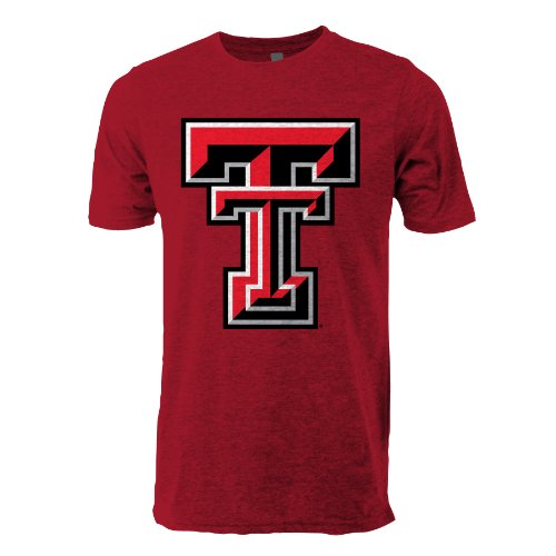 NCAA Texas Tech Red Raiders Ouray Sportswear Vintage Sheer Short Sleeve Tee, ()