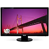 ASUS VE278Q 27in Widescreen LCD Monitor 1920x1080 LED Backlit 10M:1DC 2ms DisplayPort DVI-D VGA HDMI