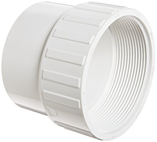 4in Female Pipe - Spears 478 Series PVC Pipe Fitting, Adapter, Schedule 40, 4