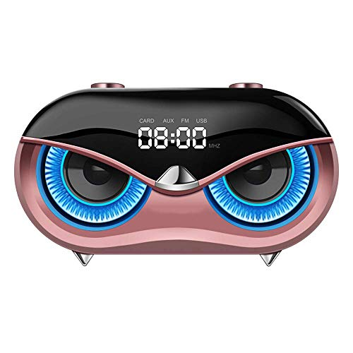 ZUZU Altavoz Bluetooth-Inicio Despertador inalámbrico Inteligente pequeño Audio Home Desktop Bass Gun teléfono móvil...