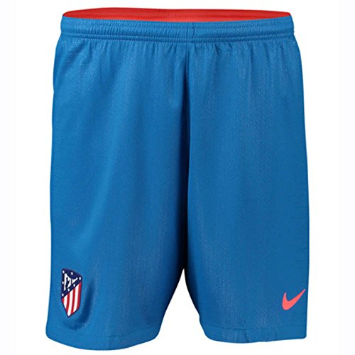 (Nike 2018-2019 Atletico Madrid Away Football Shorts (Blue))