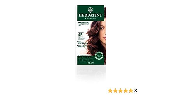 Herbatint Tinte Castaño Cobrizo 4R - 150 gr: Amazon.es: Salud ...