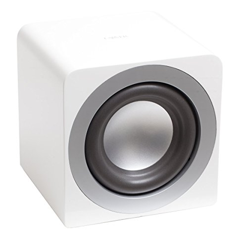 Carver Amplifier (Carver BAS8-W Subwoofer (White))
