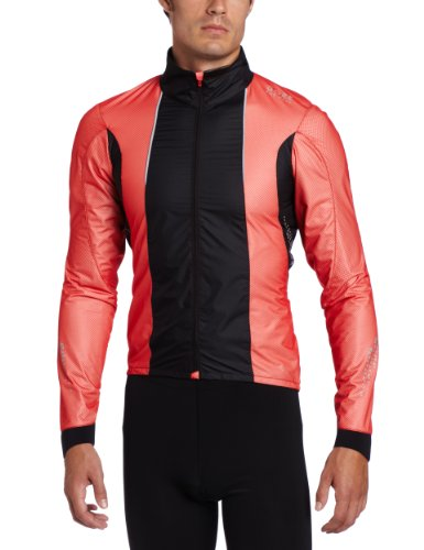 Gore Bike Wear Men's Xenon 2.0 Active Shell Jacket, Medium, Red/Black