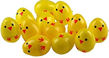 Set of 24 chick plastic surprise eggs fill with easter hunt gifts set of 24 chick plastic surprise eggs fill with easter hunt gifts negle Choice Image