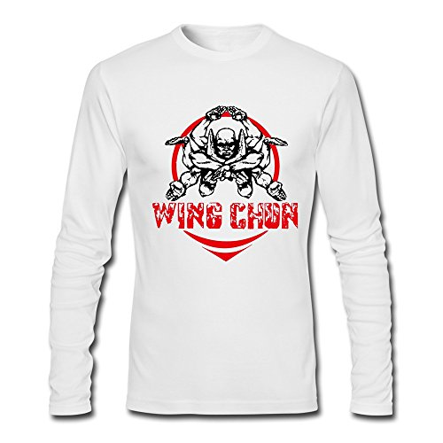 Men's Wing Chun Tee XXL White