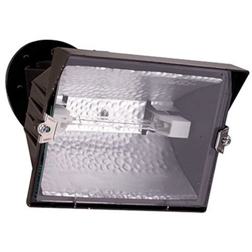 EATON Lighting GP-500-WL 500W Halogen Floodlight, Bronze